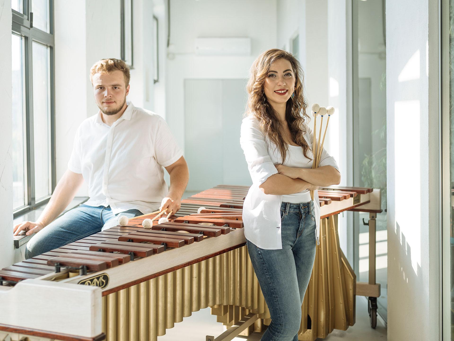 PERCUSSIONescu deschide concertele ConnectArts la Teatrelli