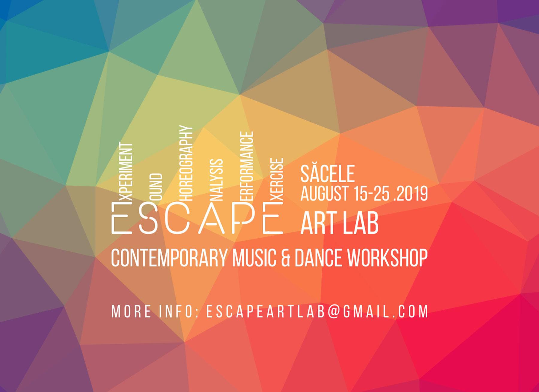 E.S.C.A.P.E. Art Lab 2019