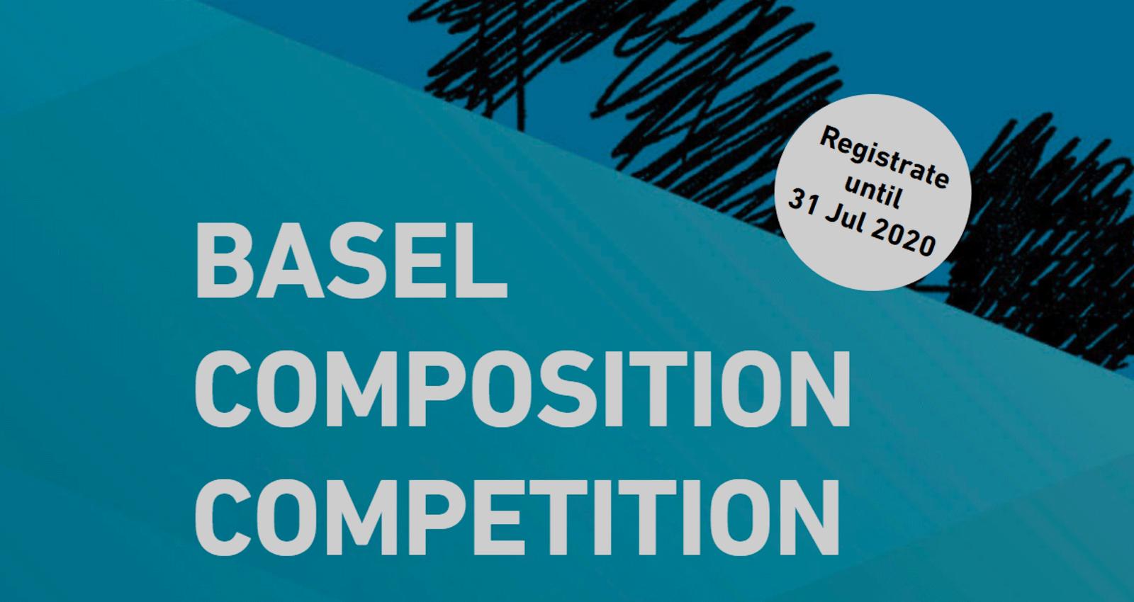 Basel Composition Competition (BCC), start înscrierilor în Ediția 3