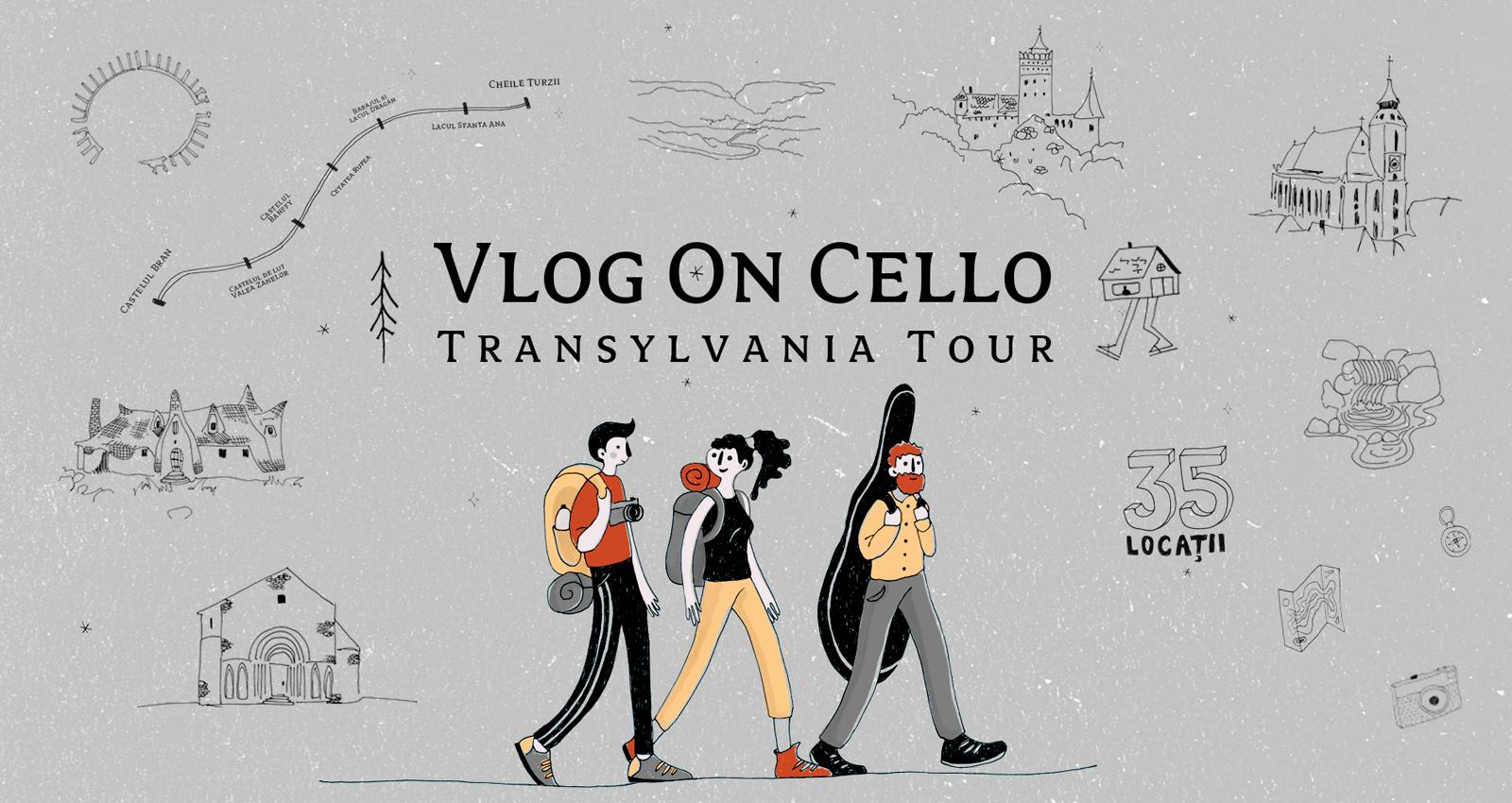 Sprijină VlogOnCello – Transylvania Tour