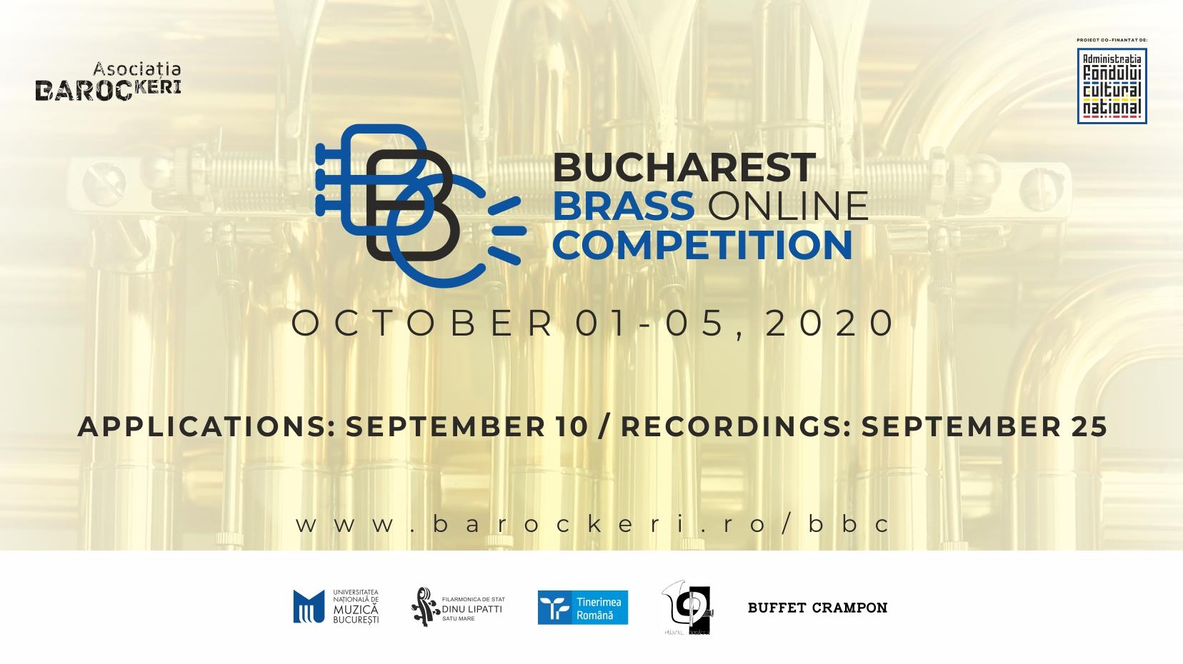 Ultimele zile de înscrieri la Bucharest Brass Competition