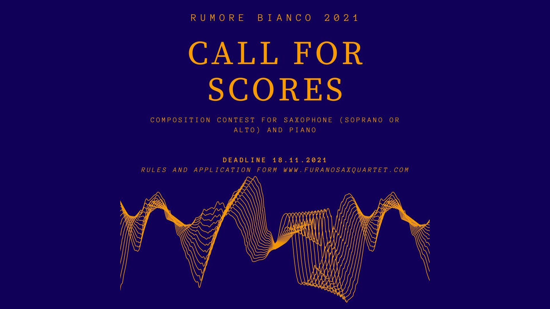 "Concurs de compoziție ""RUMORE BIANCO"" 2021"
